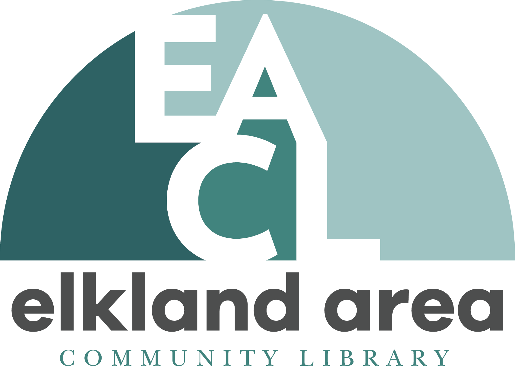 Elkland Area Community Library Logo
