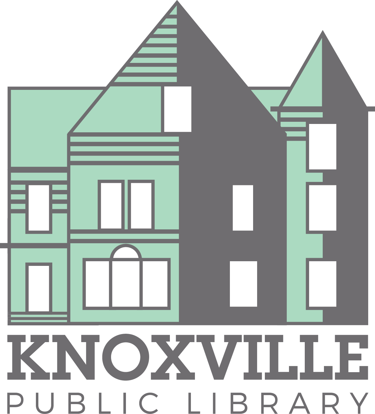 Knoxville Public Library Logo