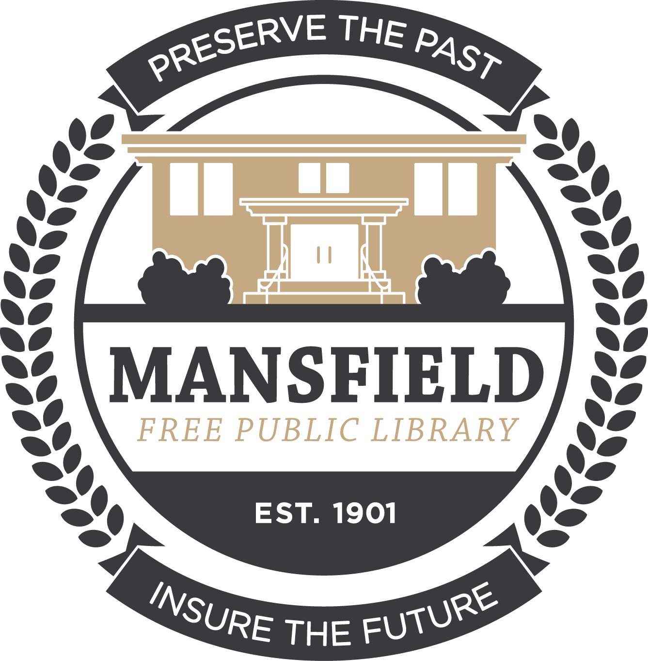 Mansfield Free Public Library Logo